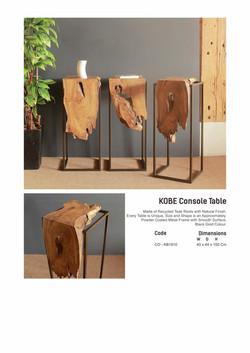 19. KOBE Console Table