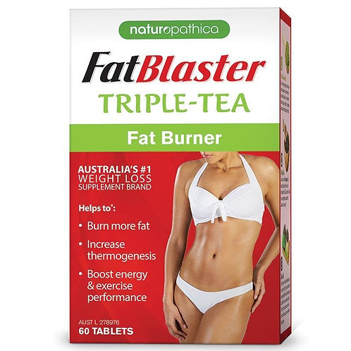 Naturopathica Fatblaster Triple Tea Fat Burner 60 Tablets