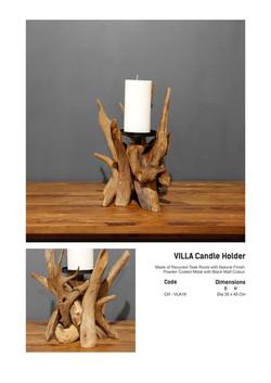 18. VILLA Candle Holder