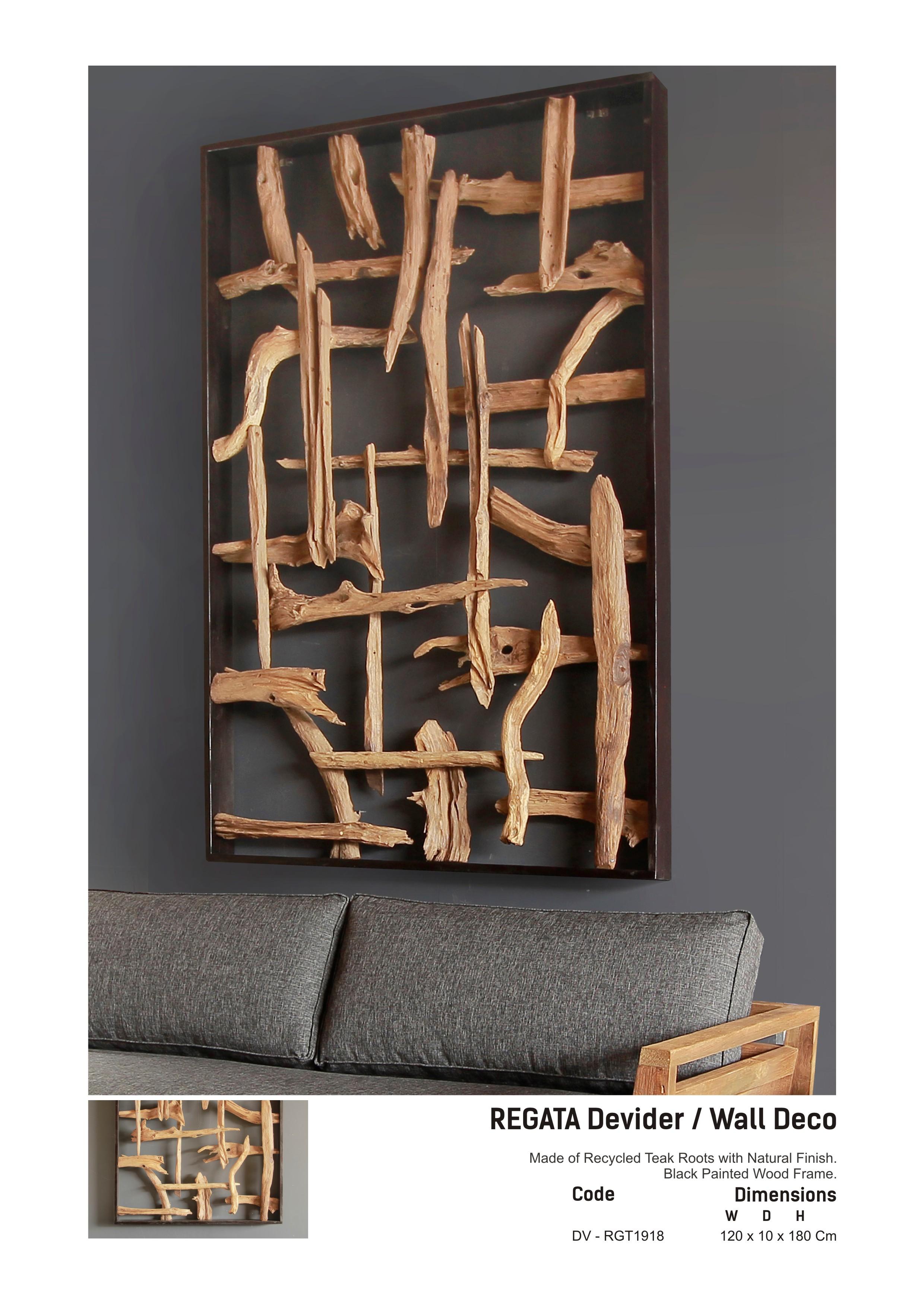 19. REGATA Devider or Wall Deco