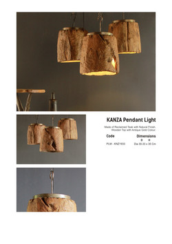 19. KANZA Pendant Light