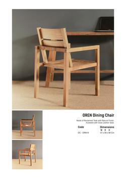 19. OREN Dining Chair