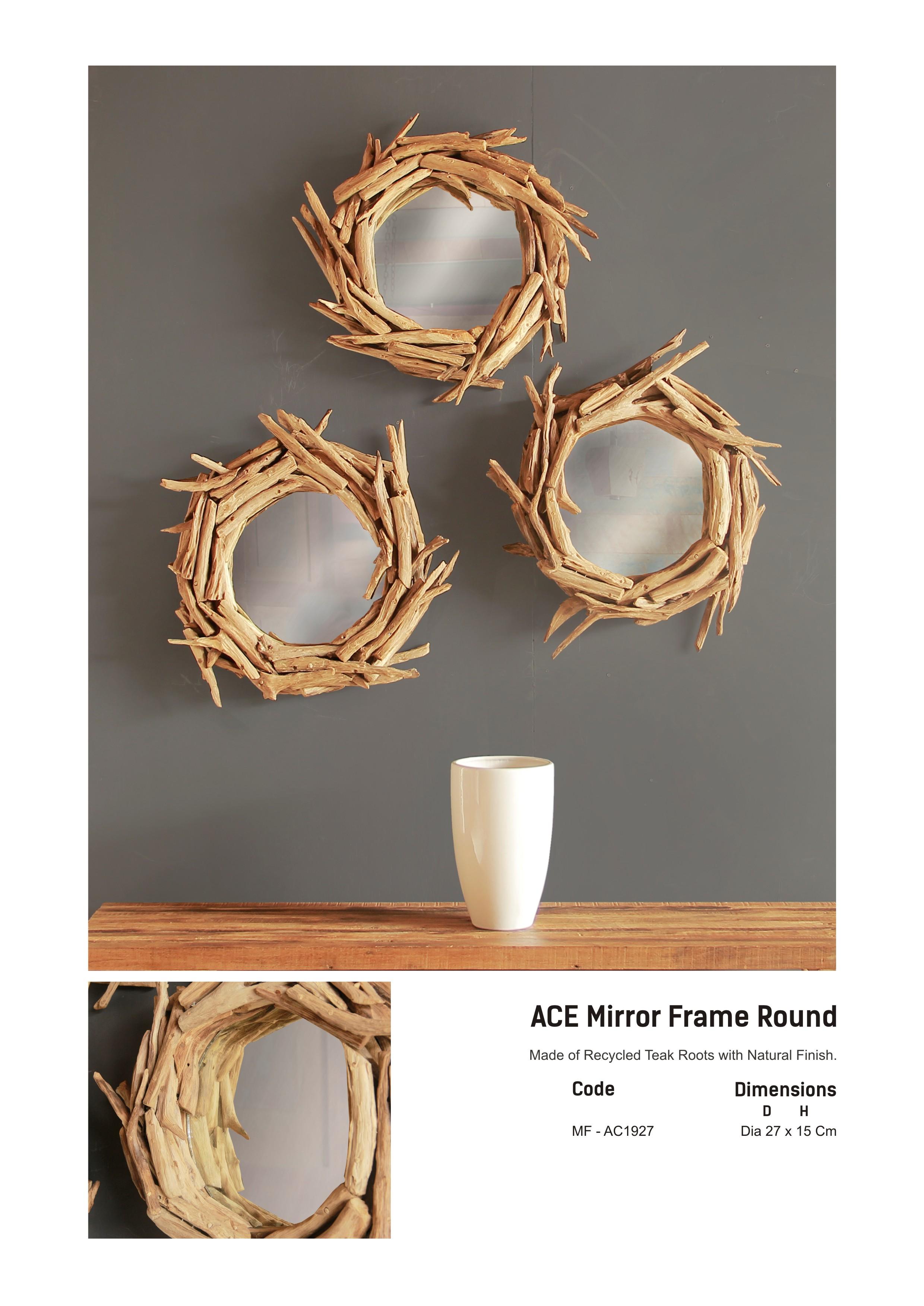 19. ACE Mirror Frame Round