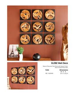 18. GLOBE Wall Deco
