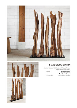 16. STAND WOOD Divider