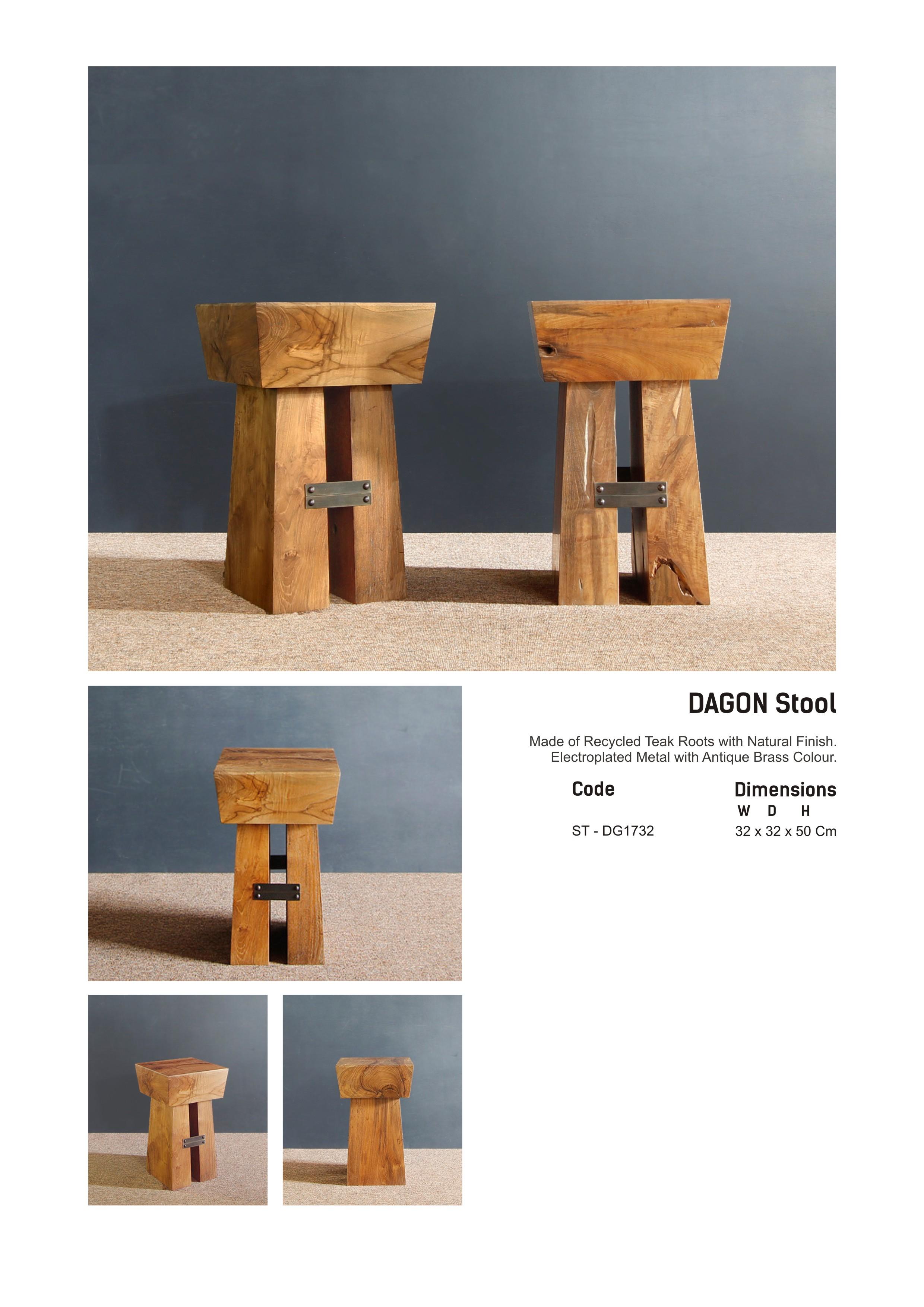 17. DAGON - Stool