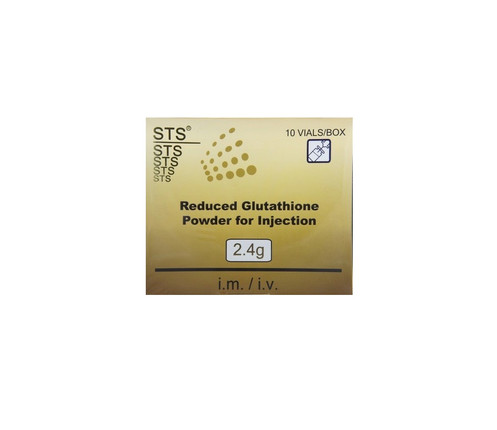 STS 2 4g Reduced Glutathione Powder for Injection 10 vials