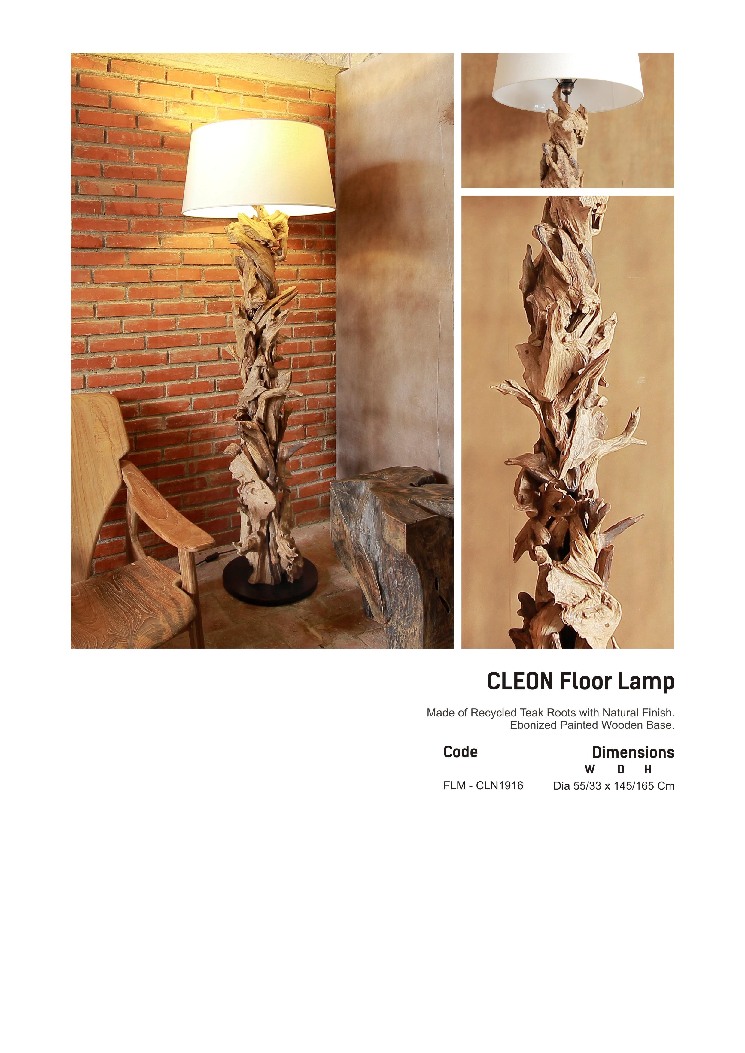 19. CLEON Floor LAmp