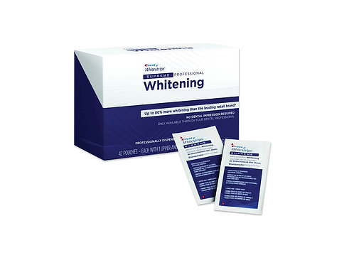 Crest Whitestrips Teeth Whitening Strips  42 pouches
