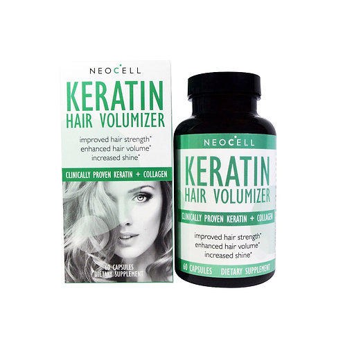 Neocell Keratin Hair Volumizer, 60 Capsules