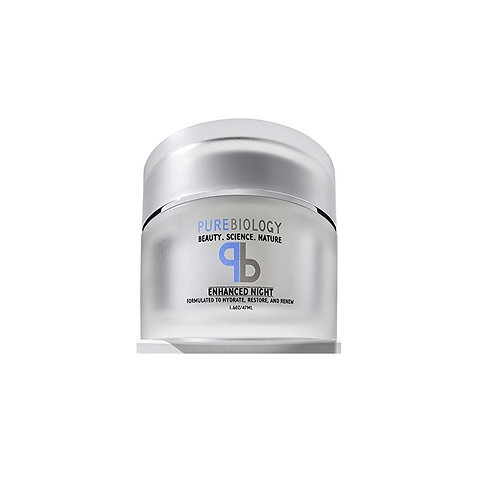 PureBiology Anti Aging Night Cream Facial Moisturizer with Pure Retinol, Hyaluro