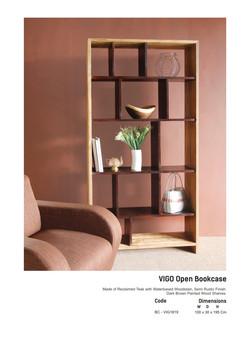 18. VIGO - Open Book Case
