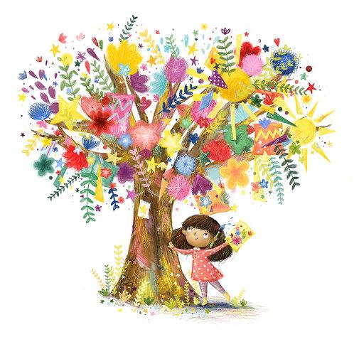 Creative Tree A4 Print