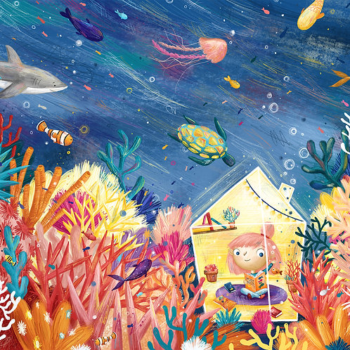 Under the Sea A3 Print