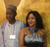 Madieye and Awa Gueye