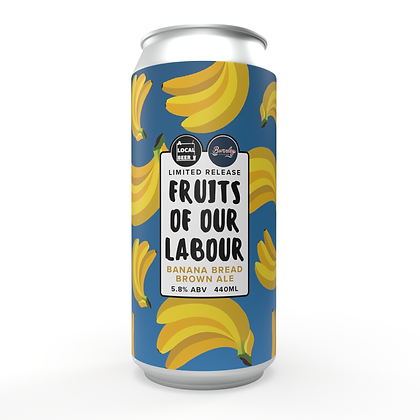 Fruits Of Our Labour Banana Bread Brown Ale