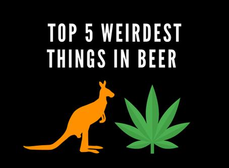Top 5 Weirdest Things in Beers