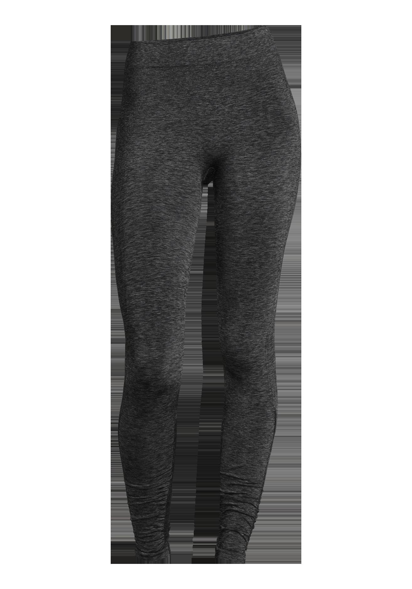 Sømløs tights Casall mørk grå, sort