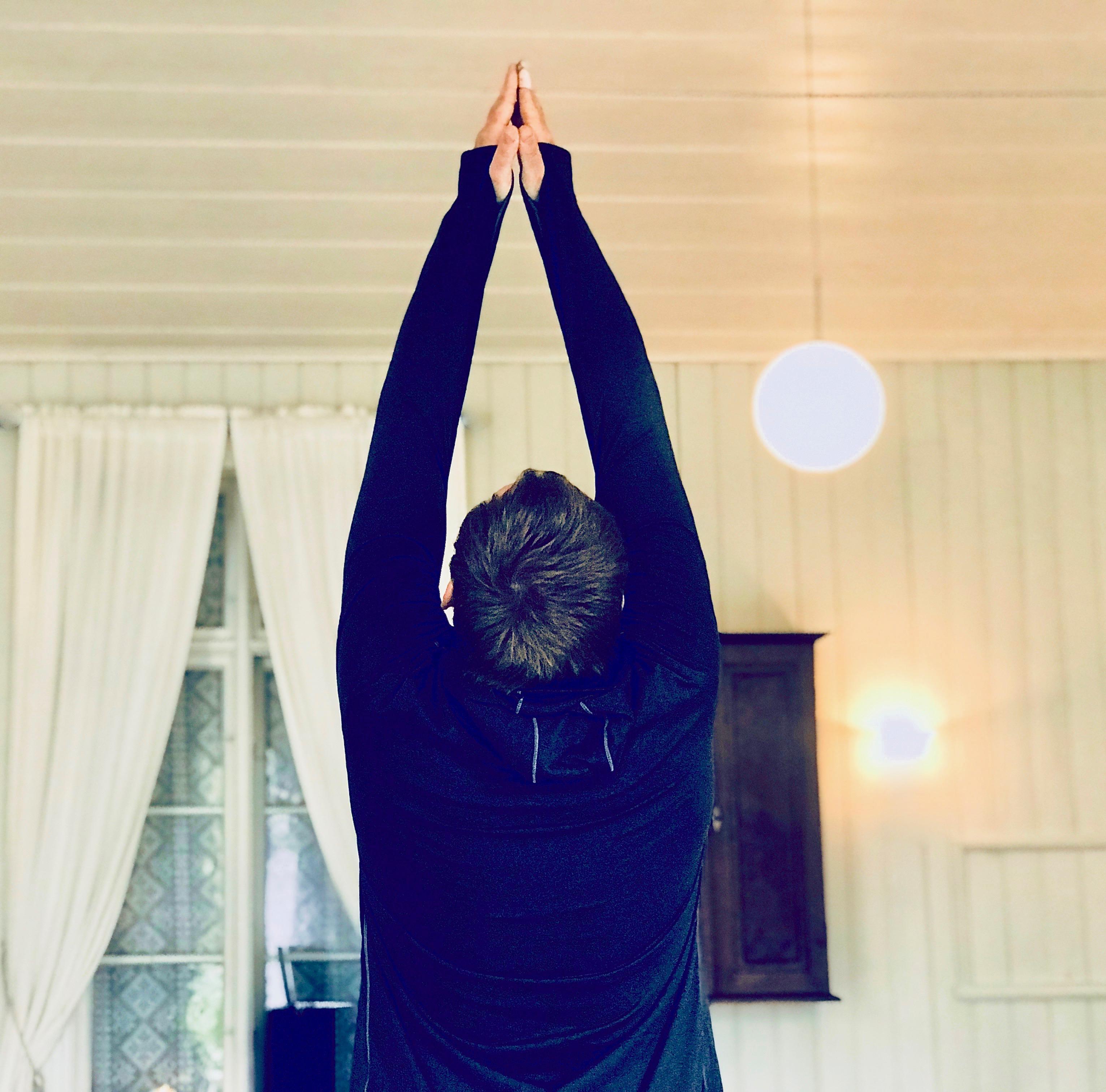 Yoga på Lyngør