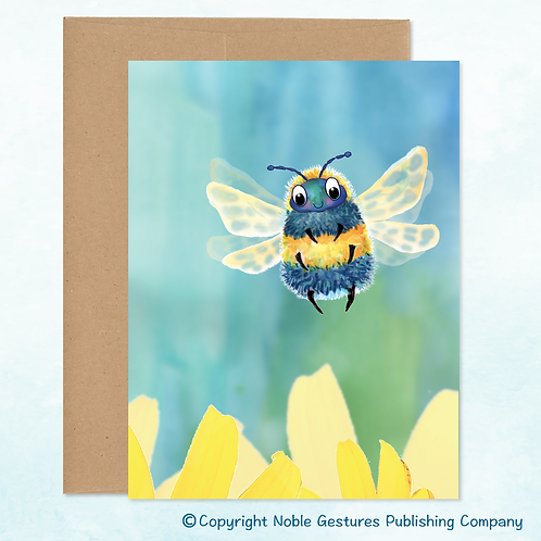 'Thelma Bee' Note Card