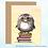 Thumbnail: 'Book Owl' Note Card
