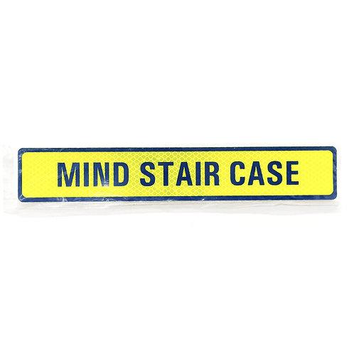"""2""""x12"""" Mind Stair Case Label"""