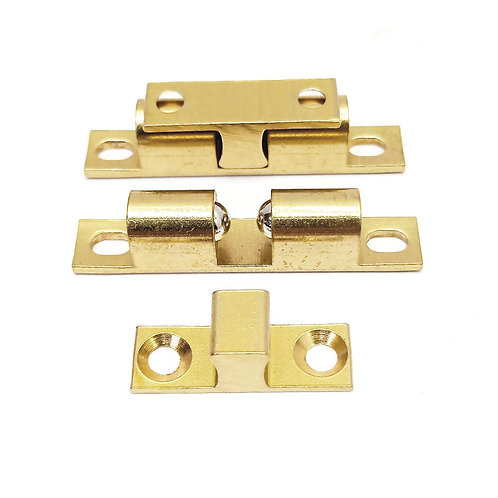 732 50mm Brass Double Ball Catch