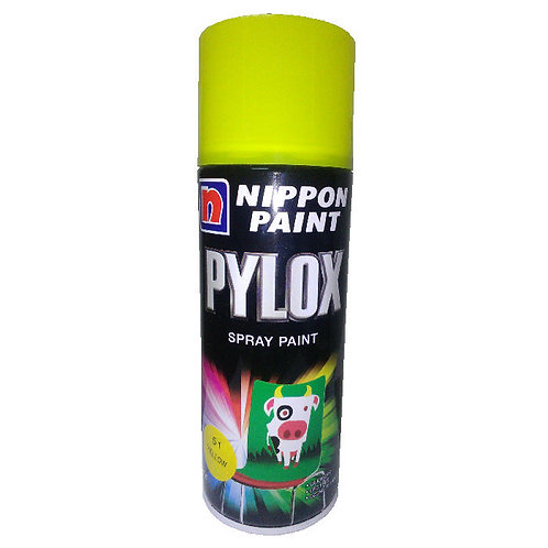 Nippon Paint Pylox Spray Paint 51 Yellow 400CC