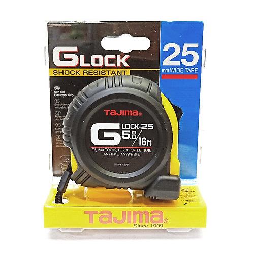 Tajima GLock 5m 16FT 25mm Wide Measuring Tape