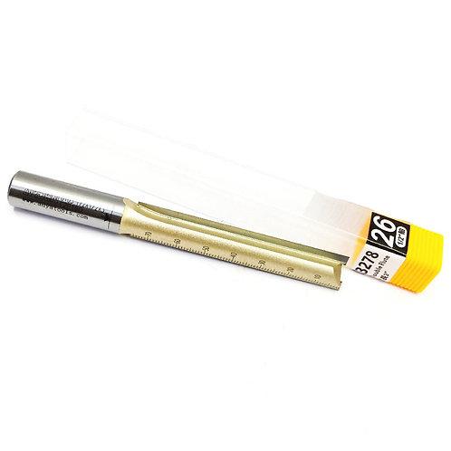 #26 1⁄2''x1⁄2''x3'' Arden Straight Bit Double Flute