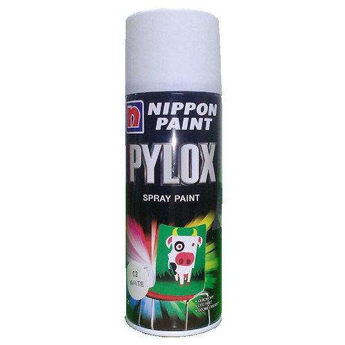 Nippon Paint Pylox Spray Paint 02 White 400CC