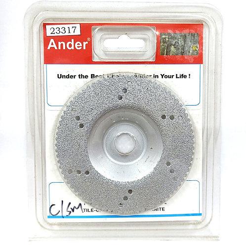 Ander 23317 4'' Diamond Blade Wheel (Silver)