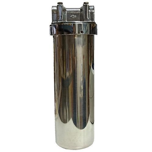 2824-500 10'' SS Water Filter Bracket & Opener 1/2'' Thread