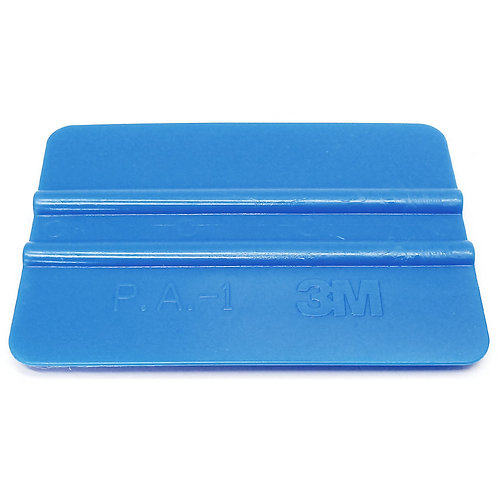 3M Hand Applicator Squeegee Tool PA1-B Blue 4""