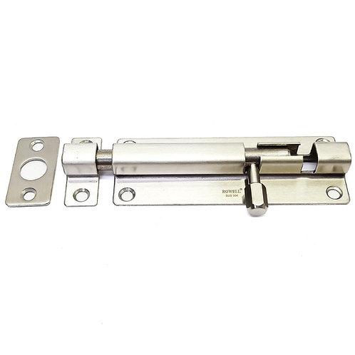 """Rowell 4""""x38mm Door Bolt SS304 DB-004-04"""