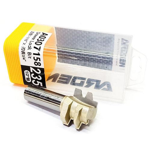 """#235 1/2""""x1-1/16""""x3/4"""" Arden Drawer Lock Bit"""