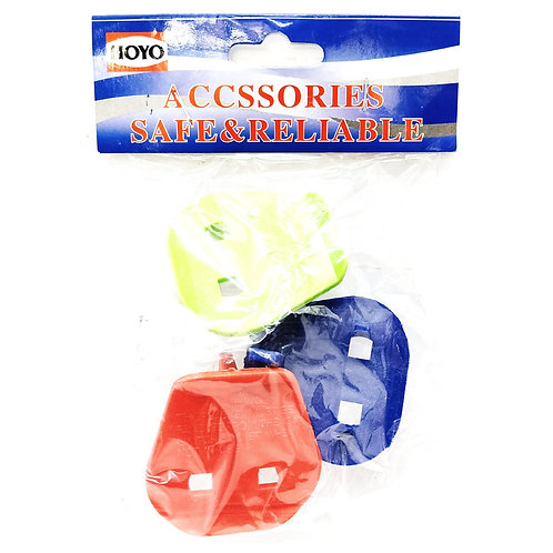 Key Plug Colour (3 In 1 Pack)