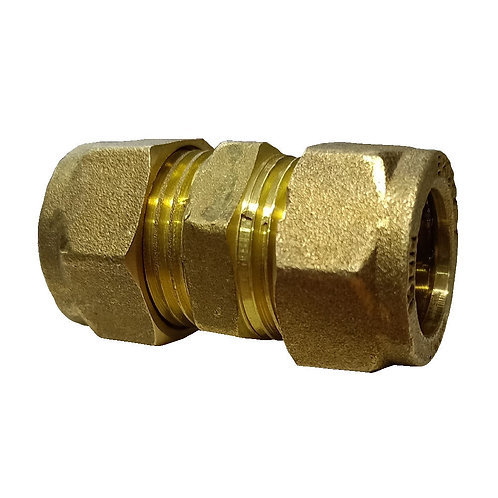 5001 15x15mm Brass CxC Coupler