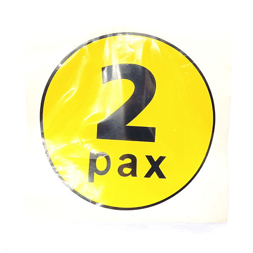 Pax Label 2 Pax