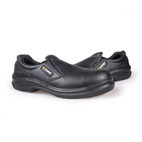 KPR Low Cut Slip-On, PU, Rubber Insert Safety Shoes - O-807
