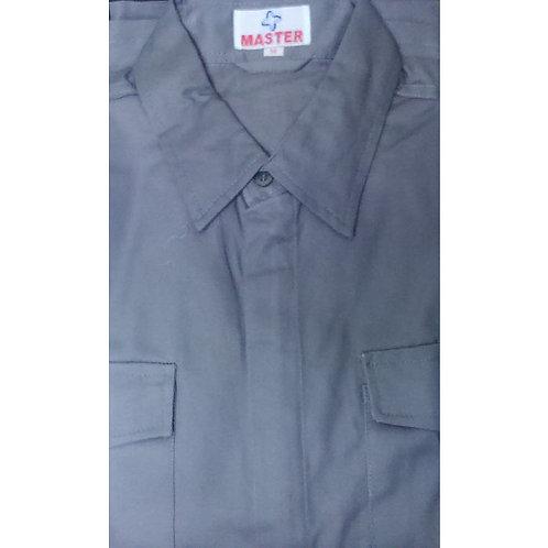SS Grey Colour Shirt WO Logo