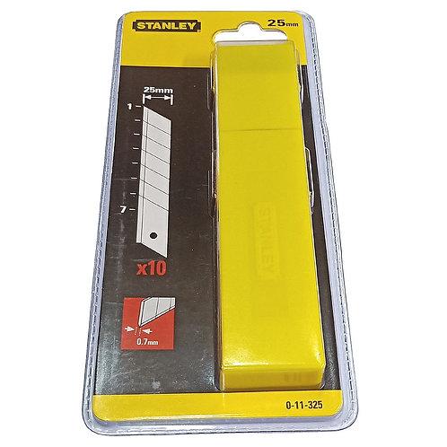 Stanley Spare Blade 0-11-325 7 Segments 25mm (10PCS)