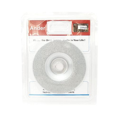"""Ander 23313 4"""" Cup Wheel (Silver) WM104(NO)"""