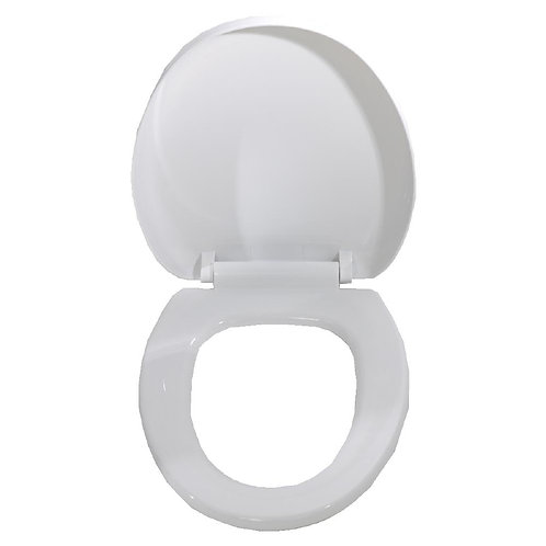 00241 White Premium Delay Toilet Seat Cover White