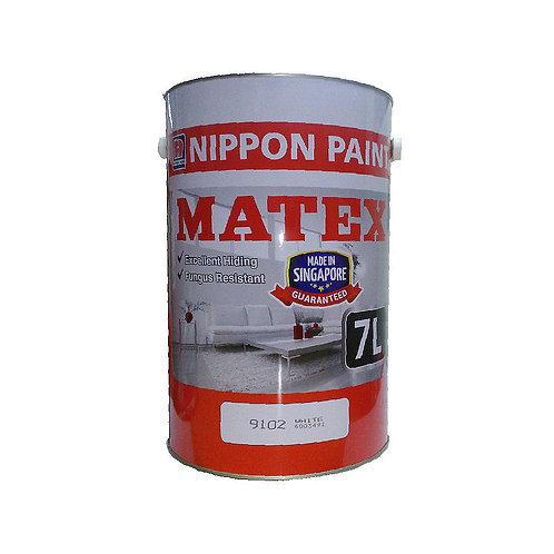 Nippon Paint Matex 9102 White 7L