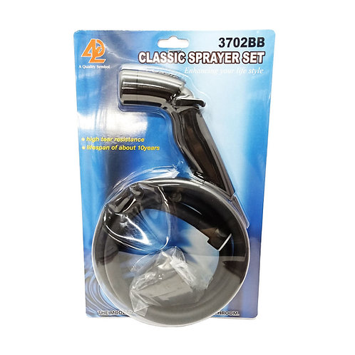 3702BB Black Sprayer Set