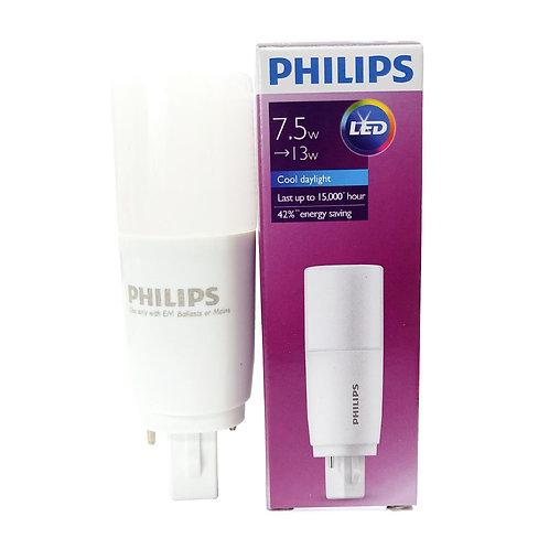 PPL7586 Philips 7.5W Cool Day Light LED PLC 2P 865