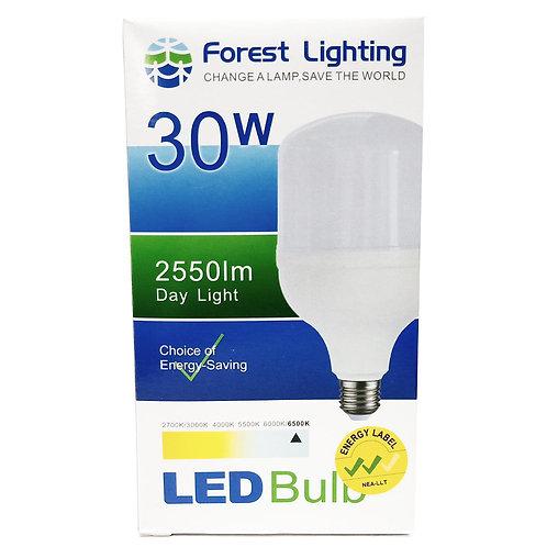 Forest Lighting 30W Led Bulb Day Light E27 2550lm 6500K