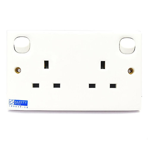 Orange 13Ax2 Switched Socket Outlet