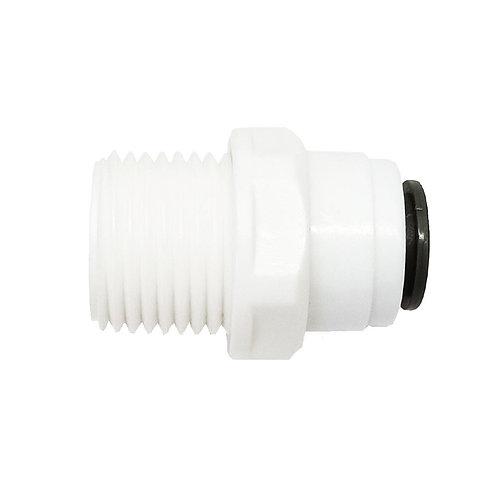 """6536 Water Filter Nipple M1/2""""-F3/8"""" (OD) Fitting"""